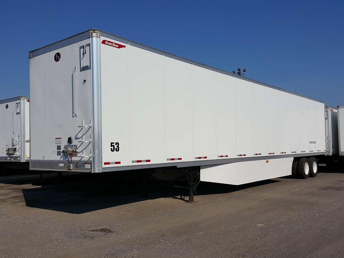 "2020 Great Dane Champion Composite Plate Van Trailers with 24"" or 50"" Logistic Centers"