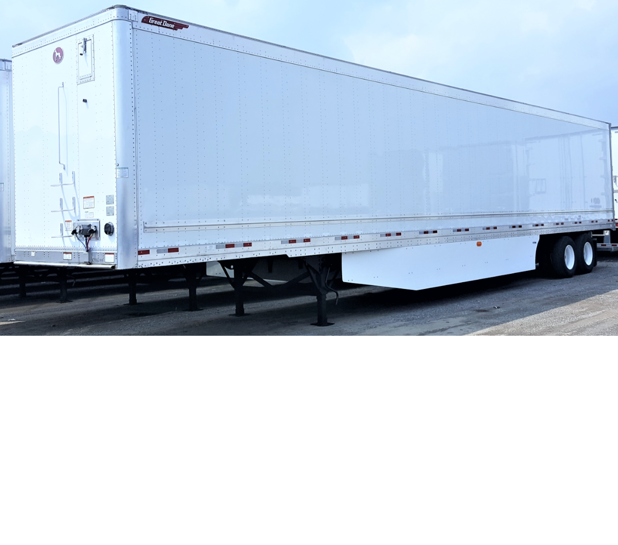 "2020 Great Dane Champion CS1 Van Trailers with 16"" Logistic Post Centers"
