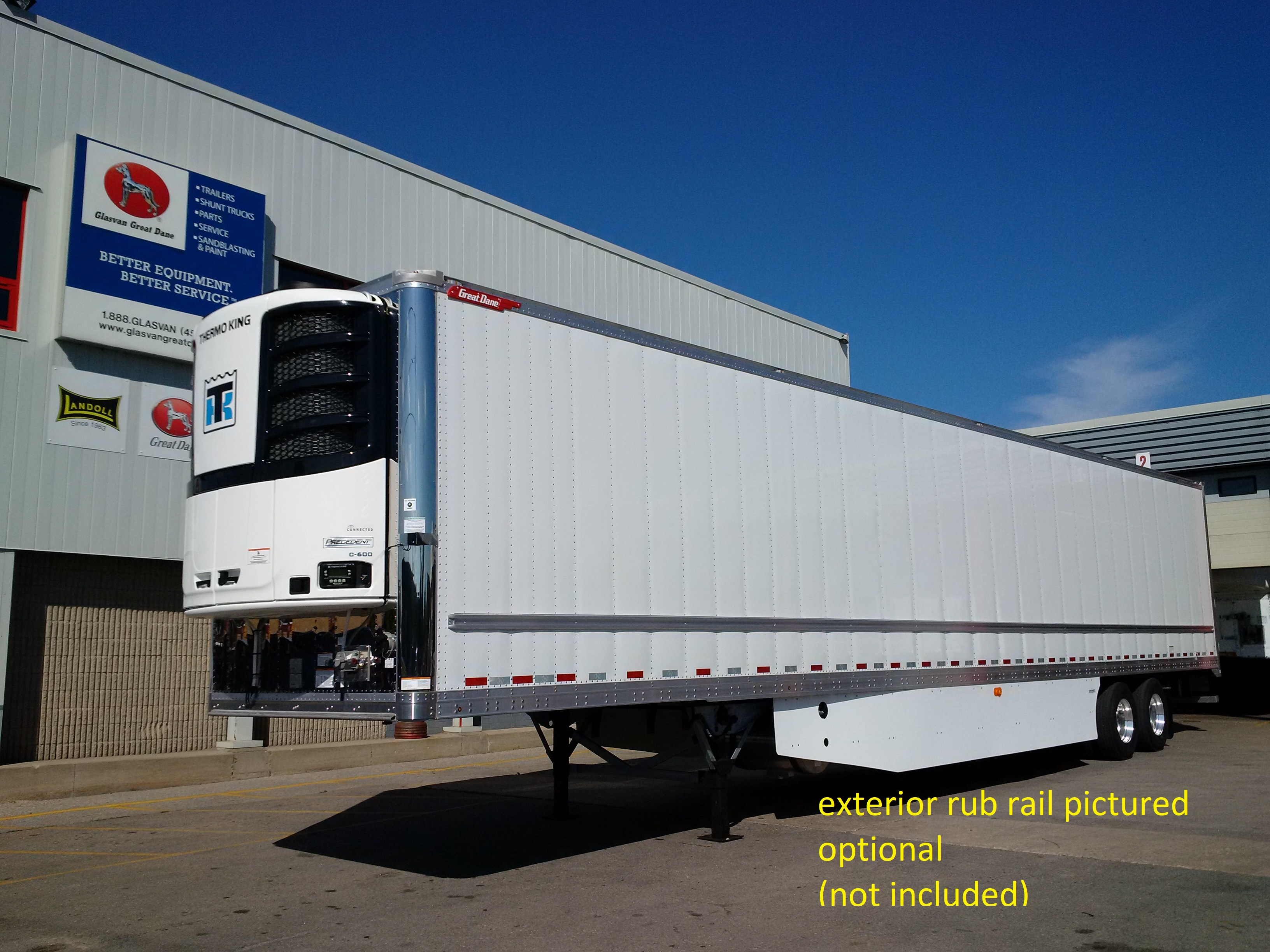 2020 GREAT DANE EVEREST EVEREST TANDEM HIGH CUBE REEFER TRAILERS