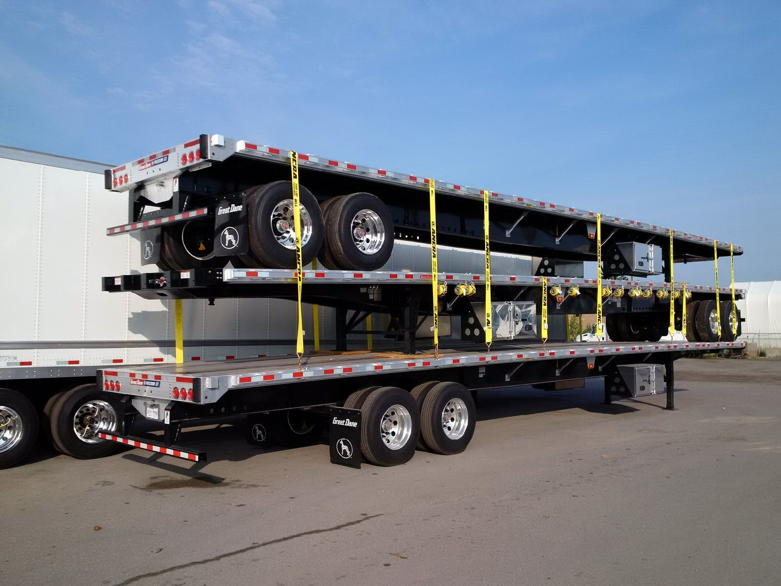 NEW GREAT DANE FREEDOM LT 53' COMBO TANDEM AXLE FLATBEDS