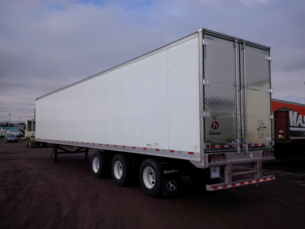 2020 GREAT DANE EVEREST TRIDEM FLAT FLOOR SWING AND ROLL UP DOOR REEFER TRAILERS